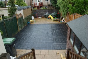 Before Artificial Grass is Installed