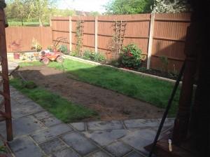 Artificial Grass Before
