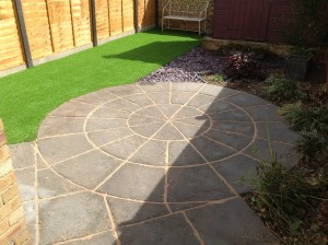 Grass artificial installation