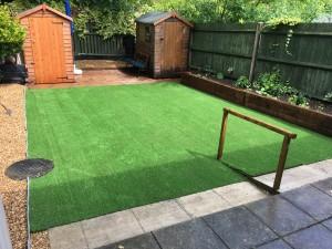 fake grass installation enfield